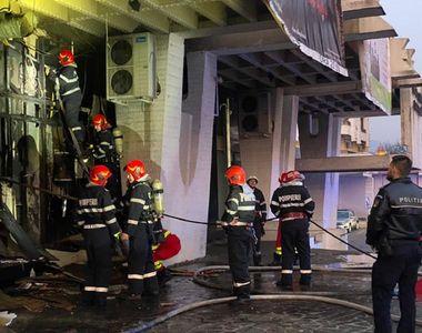Incendiu devastator la Baia Mare. Zeci de copii în pericol