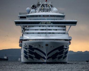 Un al doilea român de pe nava de lux Diamond Princess a fost depistat pozitiv cu noul...