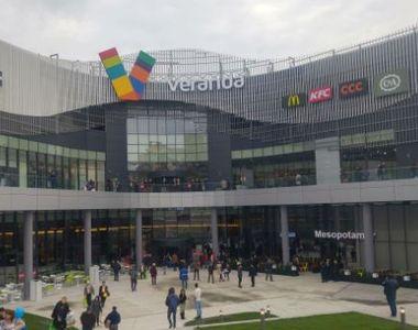 Alertă cu bombă la Veranda Mall