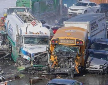 Accident de proporții pe autostradă, provocat de 200 de mașini: 2 oameni au murit, iar...