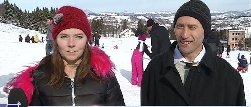Soții Stegaru au plecat la munte