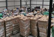 Containere încărcate cu deşeuri, descoperite în Portul Constanţa Sud Agigea