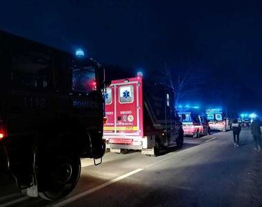 Sibiu: Trei morţi şi un rănit, după ce două maşini s-au ciocnit pe un drum judeţean