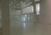 Incendiul de la Aeroportul Otopeni a fost stins