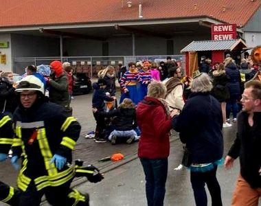 Germania: O maşină a intrat în mulţime la un carnaval. Cel puţin zece persoane au fost...