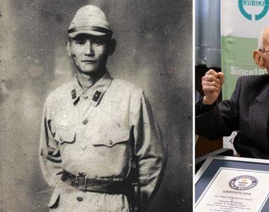 Cel mai vârstnic bărbat din lume, japonezul Chitetsu Watanabe în vârstă de 112 ani, a...