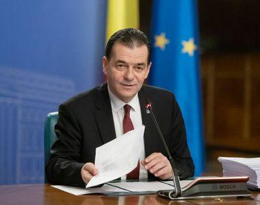 Premierul Ludovic Orban, anunț de ultimă oră privind CORONAVIRUSUL