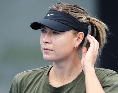 Maria Şarapova şi-a anunţat retragerea la vârsta de 32 de ani