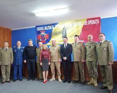 """Christian Sabbagh a devenit """"Membru de Onoare"""" al Ordinului Militar al Veteranilor din..."""
