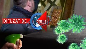 VIDEO | Icoanele din biserici, dezinfectate cu spirt de teama coronaviruslui. Mesajul Patriarhiei pentru credicioși