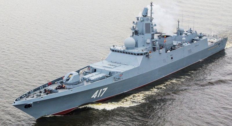 fregate Rusia