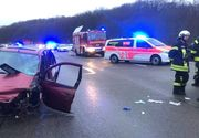 O româncă şi fetiţa ei de 2 ani, aruncate din maşină, în Germania. Mămica a murit pe loc