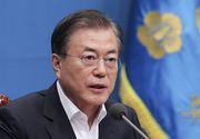 """Președintele Coreei de Sud a declarat """"război"""" coronavirusului"""