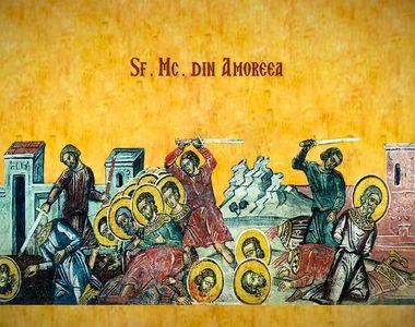 E sărbătoare mare vineri! Ce nu ai voie să faci de Sfinții 42 de Mucenici din Amoreea