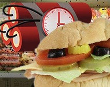 VIDEO | Adevărul șocant despre șandvișurile cumpărate din magazine. Sunt o BOMBĂ CU CEAS