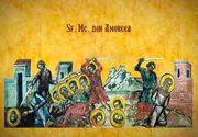 Sărbătoare importantă pe 6 martie în calendarul ortodox: sfinții 42 mucenici din Amoreea. Ce NU trebuie să faci astăzi