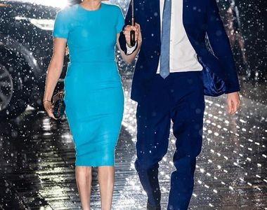 Meghan şi Harry, prima apariţie publică de la retragerea lor din familia regală...