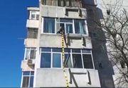 Constanța: un copil de doi ani a căzut de la etajul doi al unui bloc