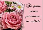 Felicitări 8 Martie 2020. Cele mai frumoase urări pentru mamă, soție și iubită