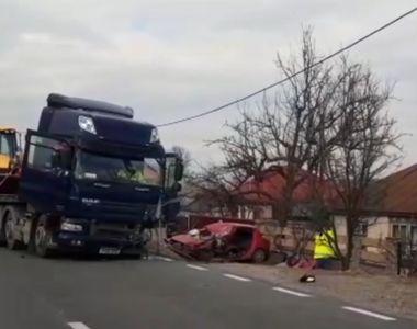 Suceava: accident mortal produs de șoferul unui autotrailer cu volanul pe dreapta
