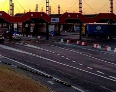 Un autocar cu 46 de pasageri care venea de la Rimini a intrat prin Vama Borş, fiind...