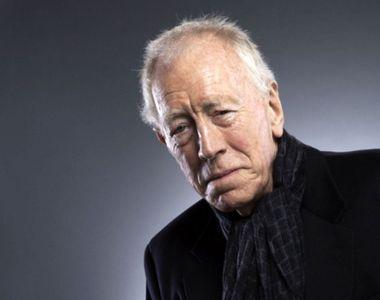 Actorul Max von Sydow, cunoscut pentru colaborările cu Ingmar Bergman, a murit la...