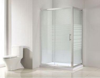 Alegerea ideală pentru o baie mică: o cabină de duș cu uli glisante!
