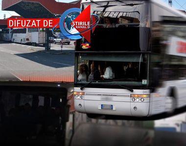 VIDEO | Un autocar plin cu români care veneau din nordul Italiei a trecut prin Vama...
