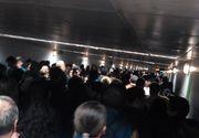 600.000 de persoane circulă, zilnic, cu garniturile de metrou - decizie neașteptată pentru a combate CORONAVIRUS