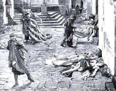 """Ciuma sau """"Moartea neagră"""". Povestea macabră a unei pandemii care a dus la moartea a..."""