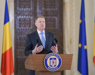 Klaus Iohannis: Consultările cu partidele politice vor avea loc prin teleconferința