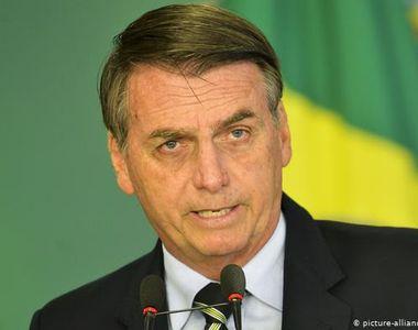 Președintele Braziliei, Jair Bolsonaro, a fost testat pozitiv pentru noul coronavirus