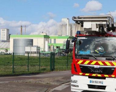 Explozie şi incendiu într-o fabrică clasată Seveso în apropiere de oraşul francez Rouen