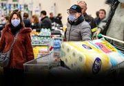 Frica golește magazinele! Aglomerație mare în supermarketuri
