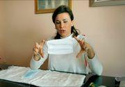 Doctorul Adina Alberts ne scapă de criza măştilor de protecţie împotriva CORONAVIRUS! Ne-a arătat cum ne putem face singuri mască