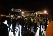 Situație dramatică! Peste 300 de șoferi români de TIR, blocaţi la graniţa Italiei cu Slovenia, de 48 de ore