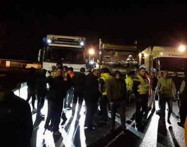 Situație dramatică! Peste 300 de șoferi români de TIR, blocaţi la graniţa Italiei cu...