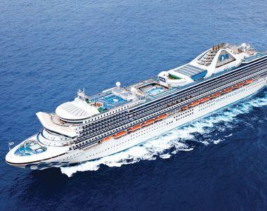 MAE: Opt cetăţeni români care se aflau la bordul navei de croazieră Grand Princess,...