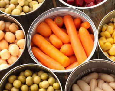 Adevărul despre legumele la conservă! MARE ATENȚIE