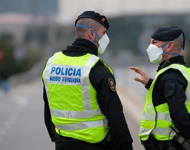 Spania anunţă aproape 1.000 de noi cazuri de contaminare cu noul coronavirus luni....