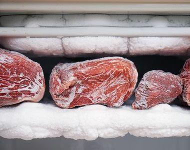 Cât poţi păstra carnea la congelator fără să se strice?