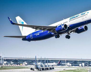 O companie aeriană suspendă zborurile regulate începând cu data de 21 martie
