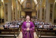 Gestul emoționant al unui preot catolic din Italia! Imaginile din biserica sa au ajuns în toată lumea