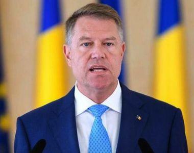 Klaus Iohannis cere Parlamentului reexaminarea şi completarea legii privind scutirea de...