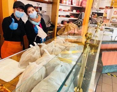 Povestea impresionată a doi români din Italia care dețin o brutărie: dăruiesc pâine...