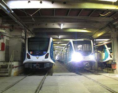 Metrorex anunţă reducerea numărului de trenuri care vor circula pe toate magistralele