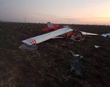 Avion prăbușit pe teritoriul României