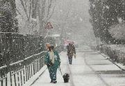 ANM - În Bucureşti va ninge la începutul săptămânii viitoare. De duminică, vremea se va răci în întreaga ţară, după care se va incălzi uşor