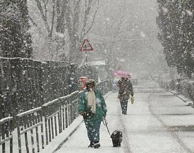 ANM - În Bucureşti va ninge la începutul săptămânii viitoare. De duminică, vremea se va...