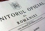 Actele normative referitoare la măsuri economice şi zile libere pentru părinţi, publicate în Monitorul Oficial